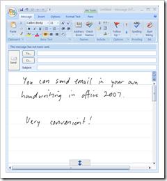 Email-Handwritten