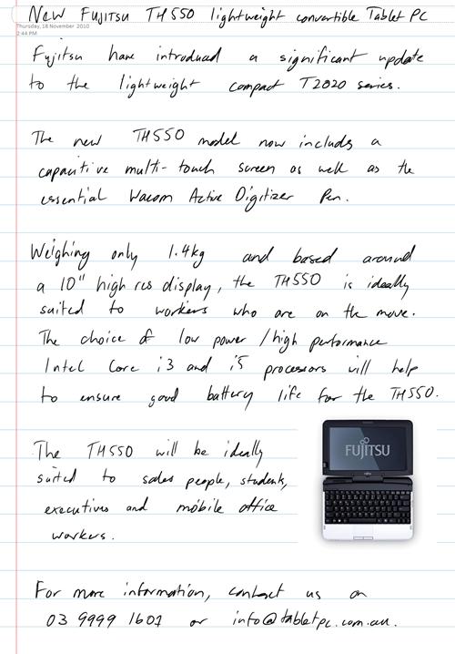 Fujitsu TH550