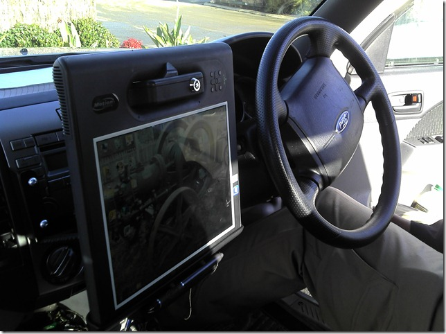 Motion F5v Installed in Ute
