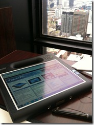 Motion F5t rugged tablet
