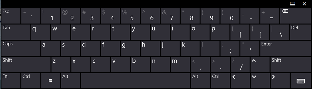 Windows 8 full keyboard archives tablet pc reviews for Window keyboard