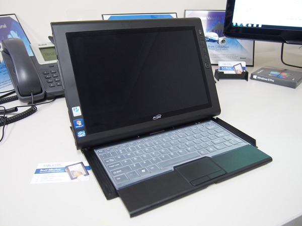 Motion Computing J3600 with keyboard
