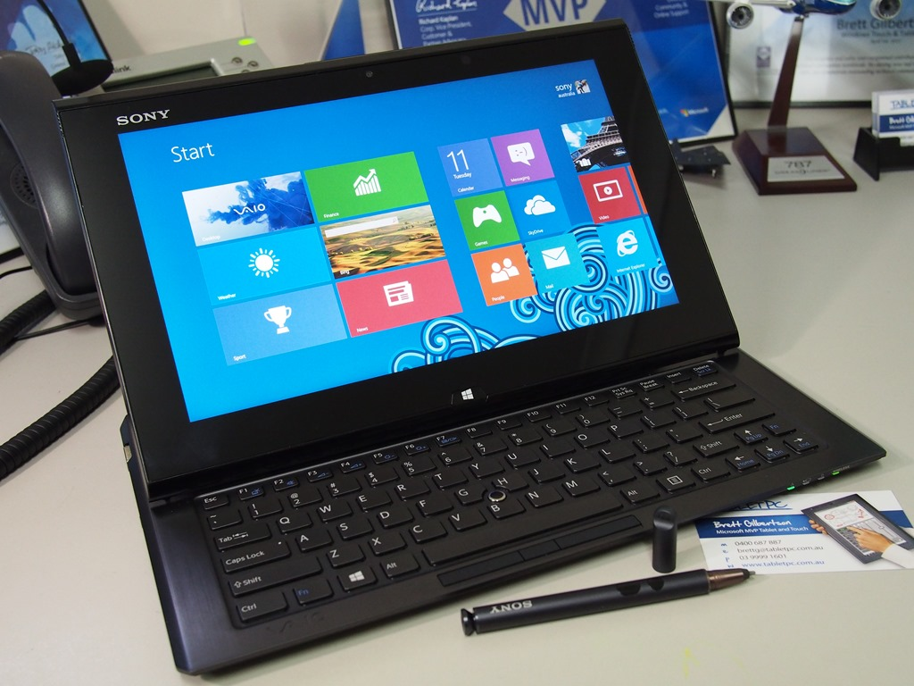 Sony Vaio Duo II–Windows 8 Slider Tablet - Microsoft Surface