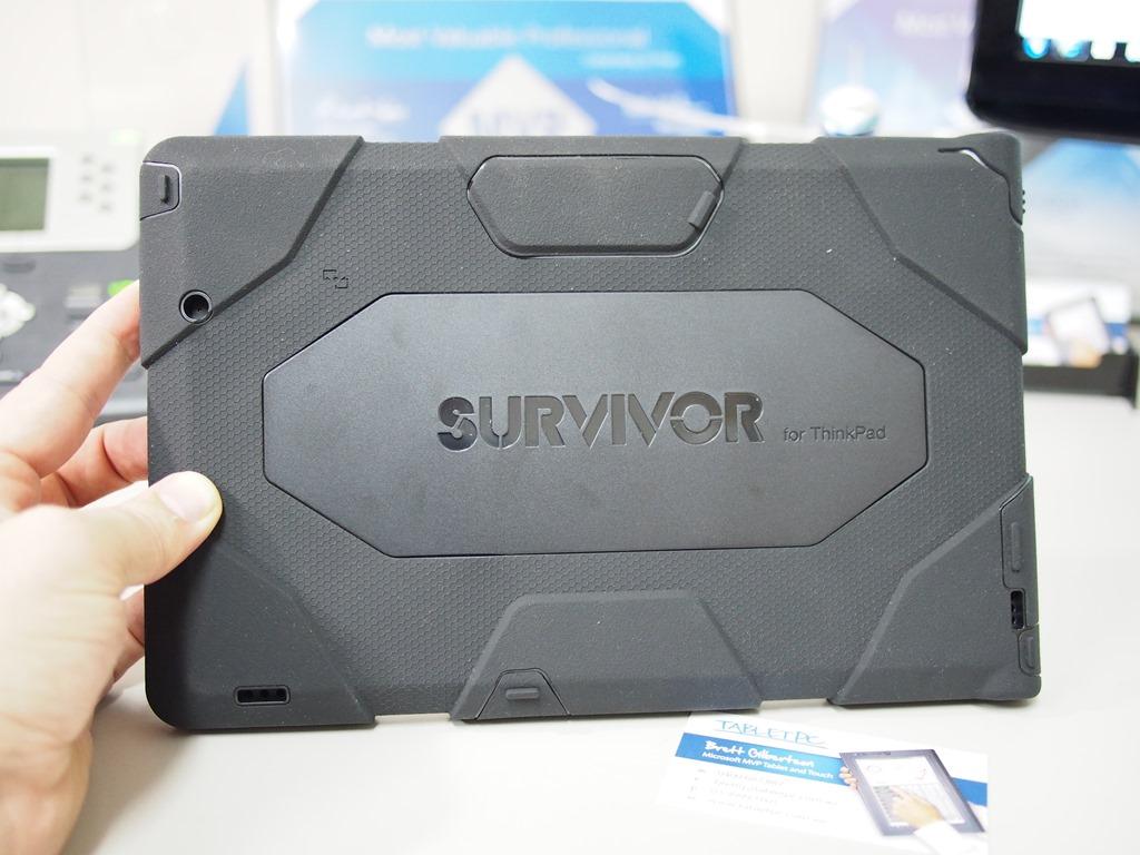 huge discount 686d7 a052a Griffin Survivor Case for Lenovo ThinkPad Tablet 2 - Microsoft ...