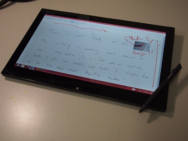 Sony Vaio Duo 13 - Windows 8 Tablet Slider