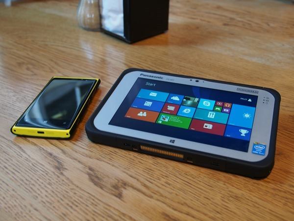 Tougbook FZ-M1 Rugged Windows 8 Tablet
