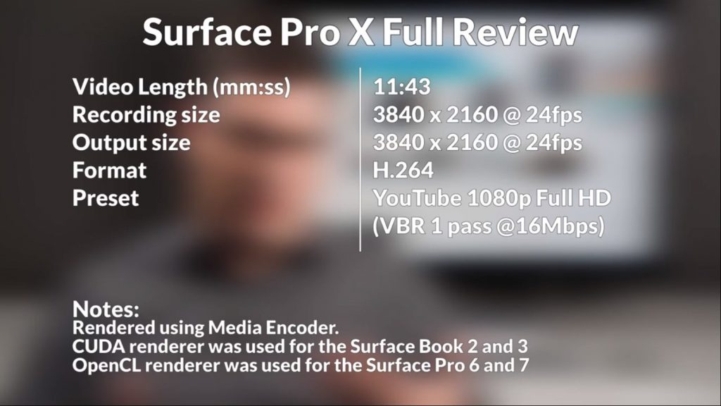 Surface Pro X review Settings