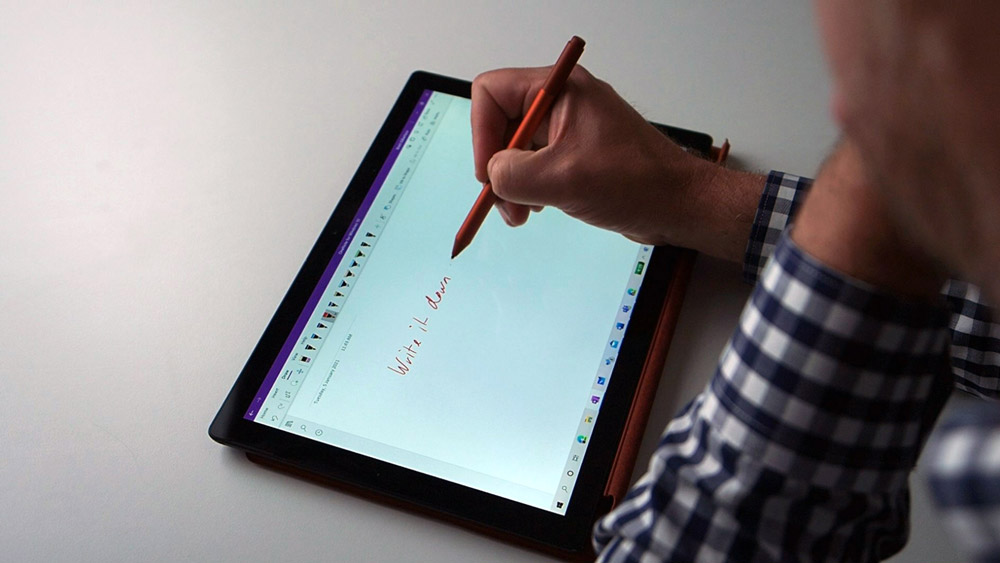 Writing with digital pen