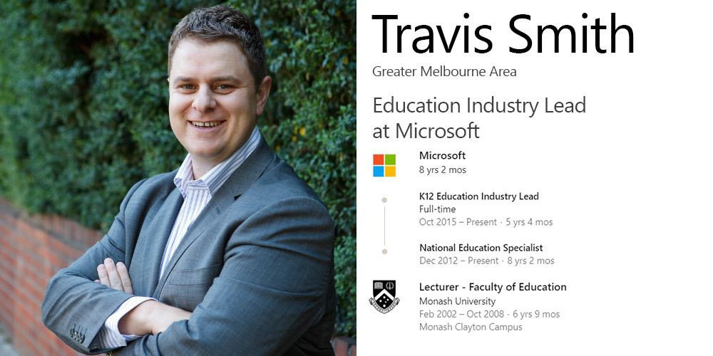 Travis Smith LinkedIn Overview