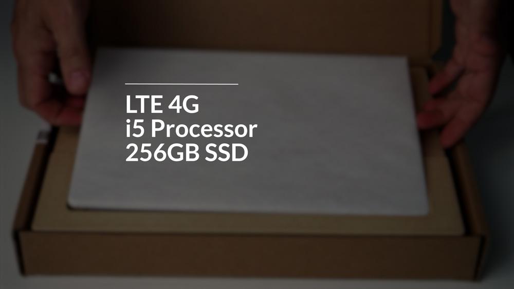 Surface Pro 7+ specs displayed. LTE 4G, i5 Processor, 256GB SSD.