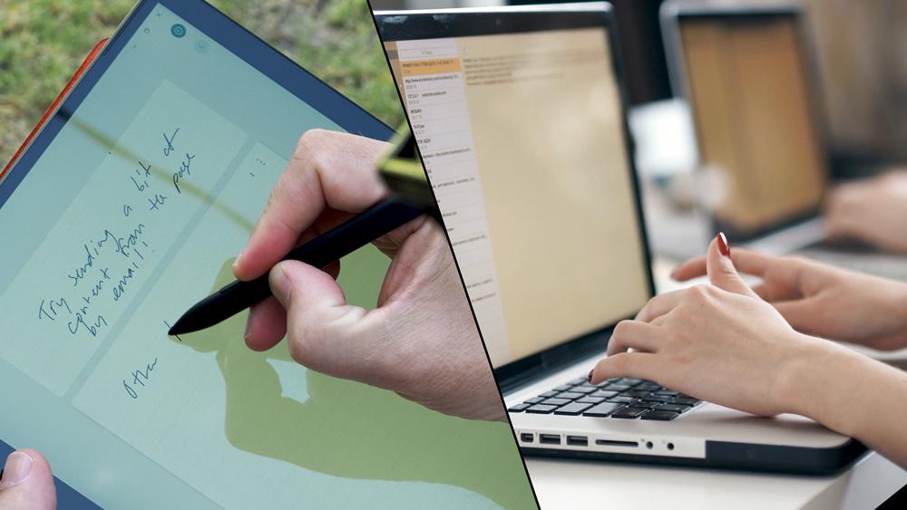 Pen and Keyboard balance