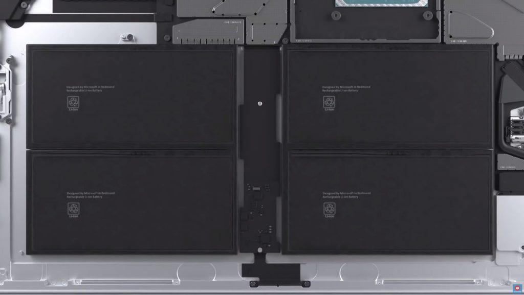 Surface Pro 7+ Battery
